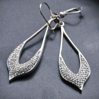 Długie kolczyki- kryształ Swarovskiego