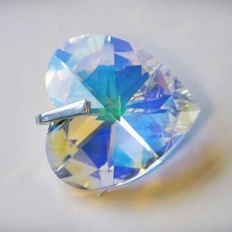 Serce- kryształ Swarovskiego