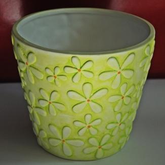 Ceramiczna kwiecista doniczka