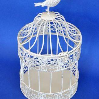 Latarnia- klatka z ptaszkiem