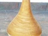 Perłowo- złoty wazon