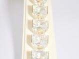 Bransoleta z prostokątnym kryształem Swarovskiego